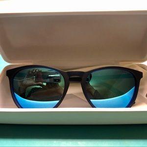 Polaroid Blue Mirrored Sunglasses Unisex